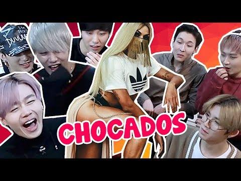 IDOLS COREANOS REAGINDO A PABLLO VITTAR E ANITTA feat BLANC7