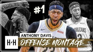 Anthony Davis MVP Montage, Full Offense Highlights 2017-2018 (Part 1) - Defense Included!