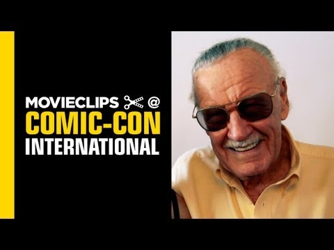 Comic-Con: Stan Lee - Exclusive Interview - Nerd HQ (2013) HD - Alison Haislip