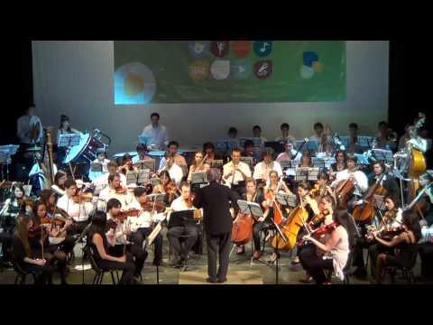 CAPRICHO ESPAÑOL -RIMSKY K. - ORQUESTA SINFONICA NACIONAL JUVENIL JOSE DE SAN MARTIN