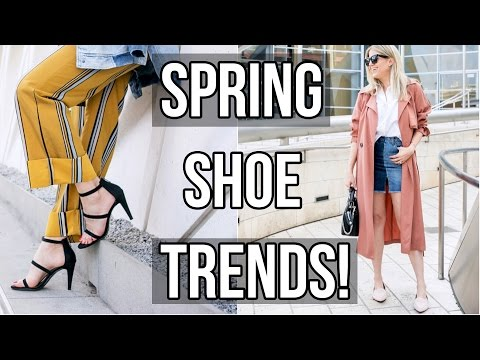 How To Wear Spring Shoe Trends!