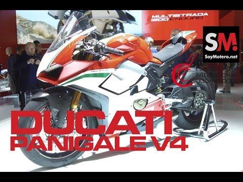 Ducati Panigale V4 2018 / EICMA 2017 [FULLHD]