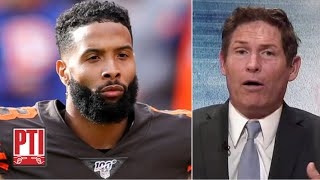 'Please, Odell! Hang in there!' - Steve Young on OBJ with the Browns   Pardon the Interruption