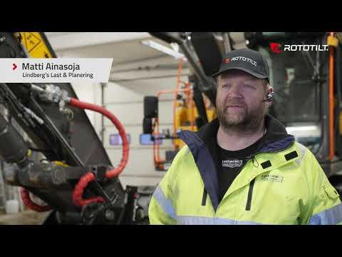 Matti Ainasoja about Rototilt® QuickChange™.