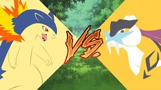 Typhlosion vs Raikou ( AMV ) Pokemon