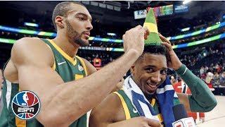 Donovan Mitchell, Rudy Gobert put on show in Jazz win vs. Trail Blazers | NBA on ESPN