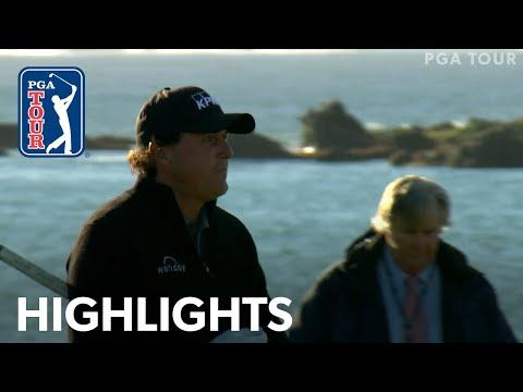 Phil Mickelson?s winning highlights from AT&T Pebble Beach 2019