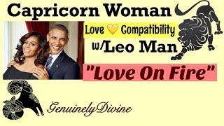 Leo Man vs Capricorn Woman (Love💛Compatibility)