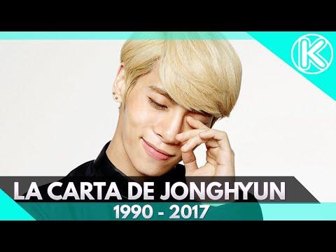 La última carta de Jonghyun