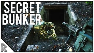 SECRET BUNKERS ON WOODS, FULLY KITTED M4 (Escape from Tarkov