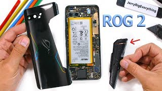 Asus ROG Phone 2 Teardown! - Is the rear vent Fake?
