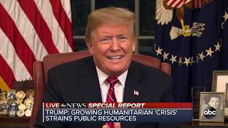 President Trump addresses government shutdown and Democratic Response