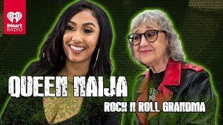 "Queen Naija Sings ""Medicine"" A Cappella + Talks Musical Inspirations | Rock 'N' Roll Grandma"