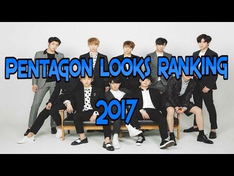Pentagon Handsome Ranking 2017