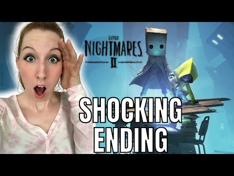 SHOCKING Ending to Little Nightmares II   Little Nightmares 2 Live Stream Ending