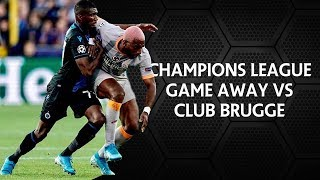 First Champions League game of the season vs Club Brugge