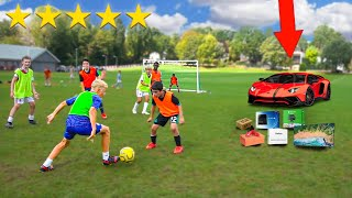 Win A Football Match, I'll Buy You Anything! - Challenge