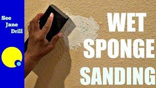 Wet Sanding/How to Sand without Dust