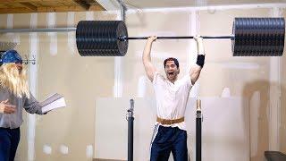 When You Think You're Insanely Strong But it's Fake Weights