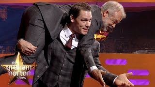 Is John Cena About To Use His NEW FINISHER on Graham Norton!? | The Graham Norton Show