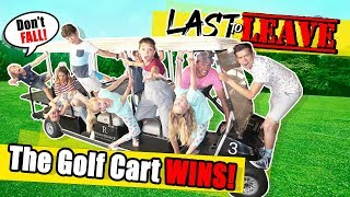 Last To LEAVE The GOLF CART Limousine WINS BIG! With The Ohana Adventure!