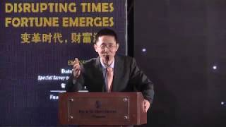 Fred Wang Gang: Fortune Times' REITs Pinnacle Awards 2017 for Best Advocator China REITs
