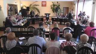 V Sesja Rady Gminy Dragacz kadencji 2014-2018 w dniu 22.06.2015Porządek obrad:1. Otwarcie sesji.2. S