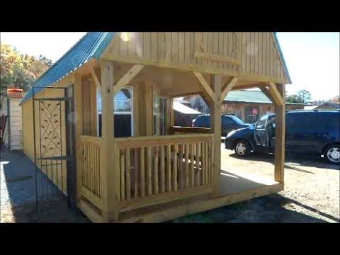 Tiny House Cabin 12x30 7 695 Youtube