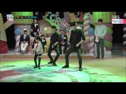 [FULL] 150322 Taemin and little girl dancing Danger @StarJunior