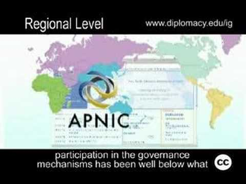 Internet Governance - Regional Level