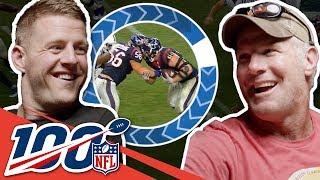 Brett Favre & J.J. Watt Bond Over Packer Pride | NFL 100 Generations