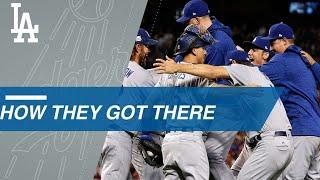 Path to the Splash: Dodgers claim NL West, win NLDS