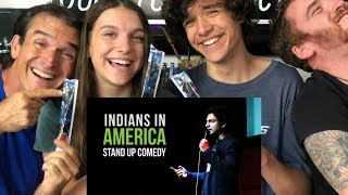 KENNY SEBASTIAN - BEING INDIAN IN AMERICA | REACTION!!