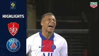 STADE BRESTOIS 29 - PARIS SAINT-GERMAIN (0 - 2) - Highlights - (SB29 - PSG) / 2020-2021