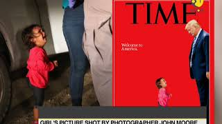 Time Magazine take on US immigration law: Trump on cover page again
