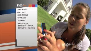 Ana Ivanovic Bag Check