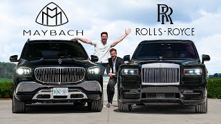 2021 Mercedes-Maybach GLS600 vs Rolls-Royce Cullinan // Battle Of The ULTIMATE Ballers