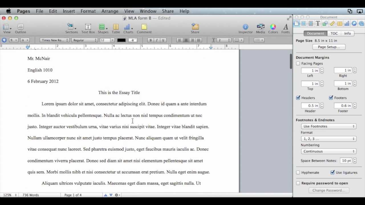The Mac Air as a Tool For Writing