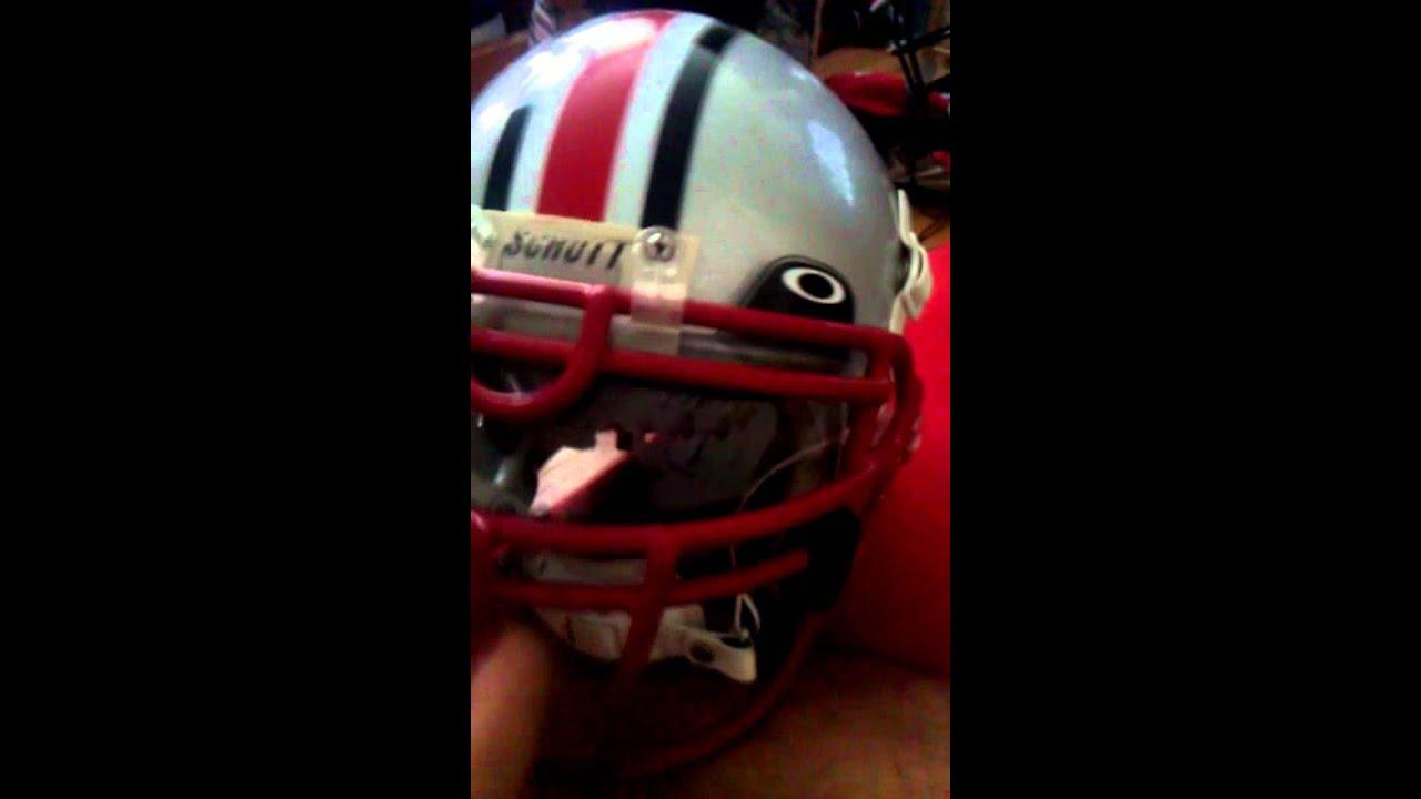 bc1ff3acd00  NEW  OAKLEY 20% GRAY DARK-TINT Football Helmet EYE SHIELD VISOR FACE 60 % Oakley  football visor - YouTube