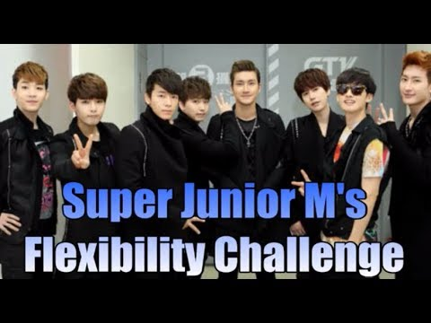 Super Junior M's witty flexibility challenge