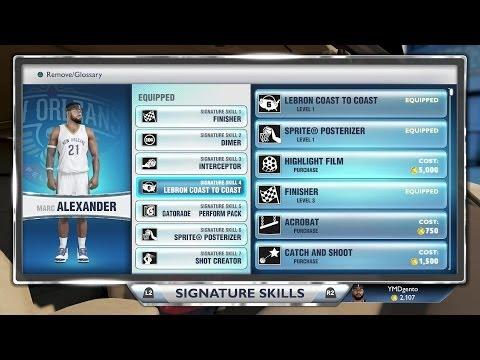 NBA 2K14 Next Gen MyCAREER - Attribute Upgrades! PS4