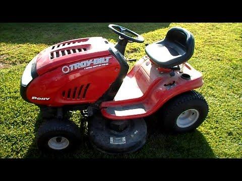 Troy Bilt Pony Riding Lawn Mower 42 Quot 17 5hp B Amp S Engine