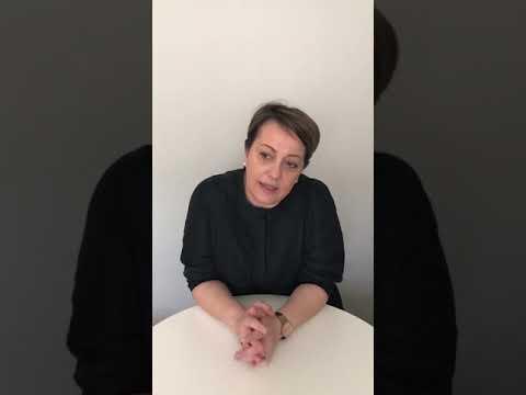 Sabina Bico, integrationssamordnare Ronneby kommun, informerar om corona