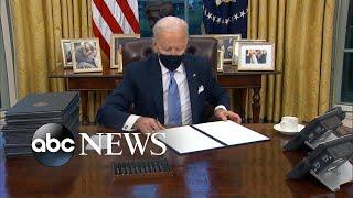 The world watches as President Joe Biden takes over