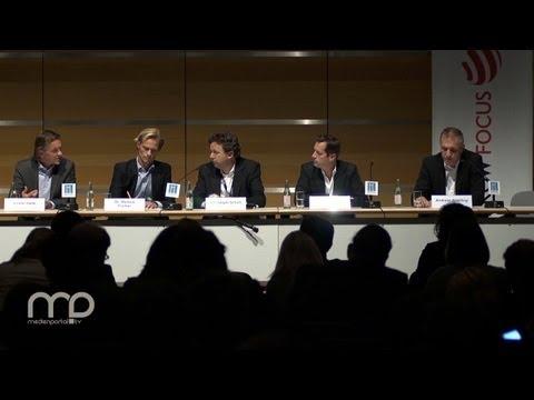 Diskussion:  Der Werbemarkt 2015 - ein Expertenausblick