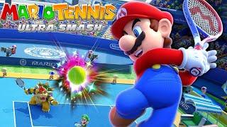 Mario Tennis: Ultra Smash Walkthrough Part 6 - Knockout Challenge (Unlocking Star Bowser)