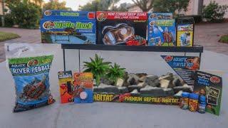 AQUATIC TURTLE STARTER KIT!! *AMAZING*