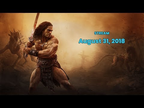 Conan Exiles Community Stream - Let's Check Out Some Cool Stuff!