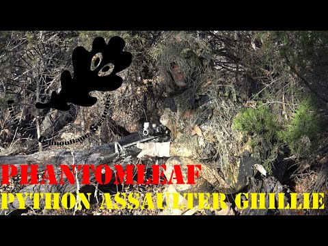 PHANTOMLEAF Python Assaulter Ghillie Review by Brent0331