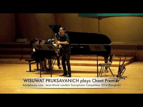 WISUWAT PRUKSAVANICH plays Chant Premier by Marcel Mihalovici